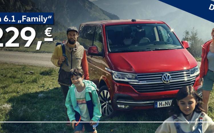 """Der Volkswagen Multivan 6.1 """"Family"""""""