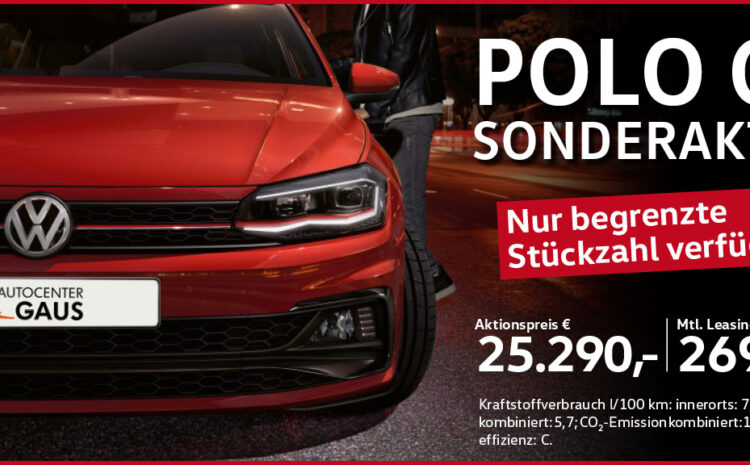 Polo GTI Sonderaktion